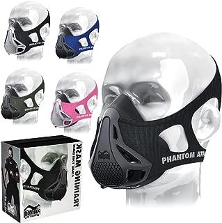 Phantom Workout Training Mask High Altitude Elevation Stimulation + Carrying Case