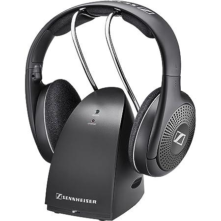 SENNHEISER RS 135 On-Ear Wireless RF Headphones with Charging Cradle