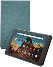 Fire HD 10 Tablet (32 GB, Twilight Blue, With Special Offers) + Amazon Standing Case (Twilight Blue) + 15W USB-C Charger