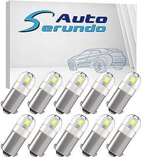 Serundo Auto BA9S Led Car Bulb BA9 1895 1891 53 57 Led Car Bulb, 2SMD 3030Chips 6000K White 47830 64111 3893 LED Car Bulb ...