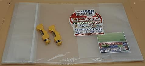 Office Box Lote 10 Forros Express Ajustables Transparentes para Libros 29 cms + 2 Estuches Minas Oso