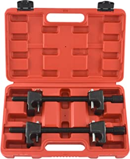 Neiko 50605A Macpherson Strut Spring Compressor with Heavy Duty Storage Case and Handle   Auto Suspension Kit