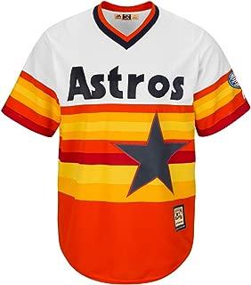 Majestic Craig Biggio Houston Astros HOF Cooperstown Cool Base Rainbow Jersey