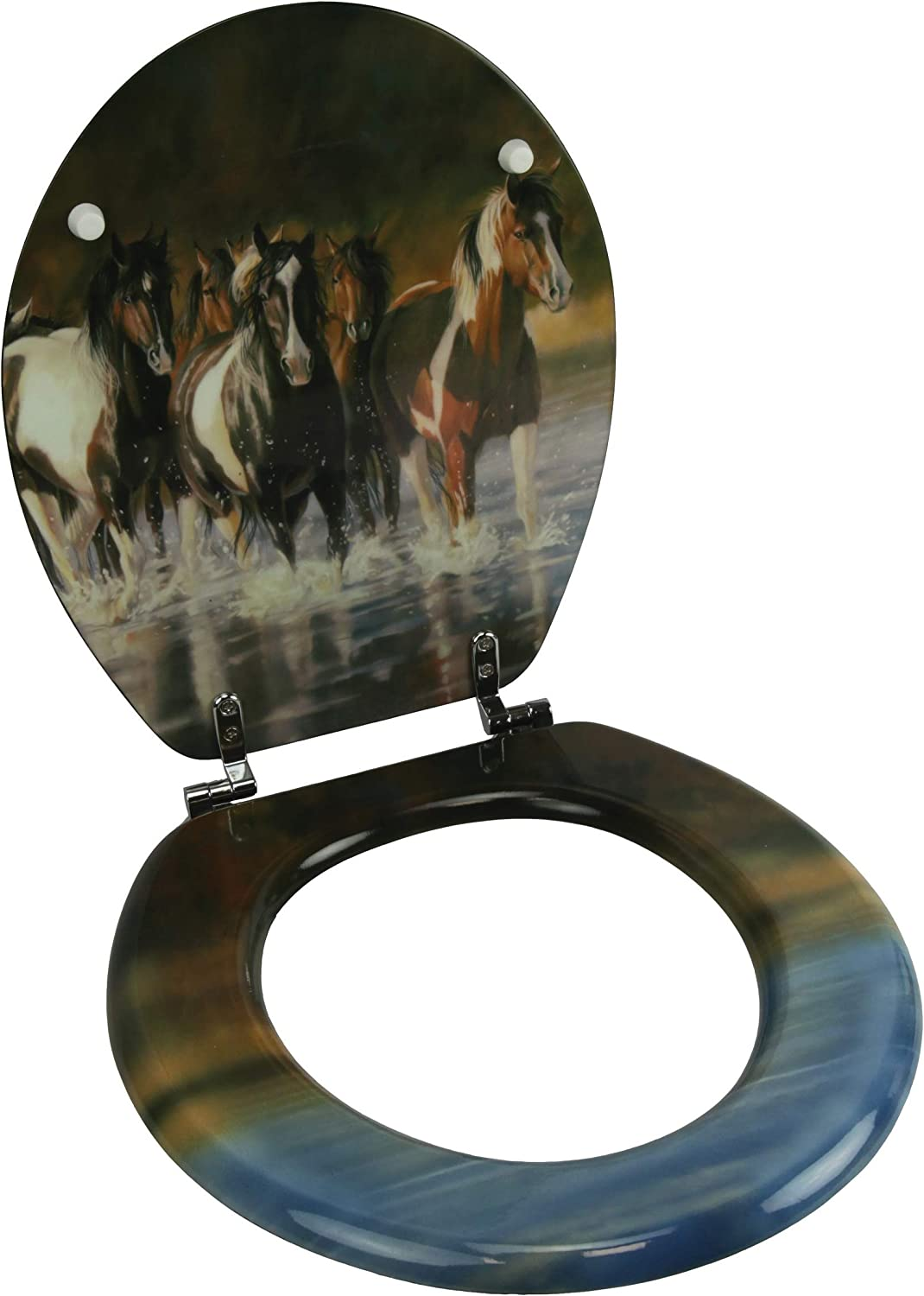 River's Edge Products Toilet Ranking TOP16 Manufacturer direct delivery Seat V Horse - Schultz