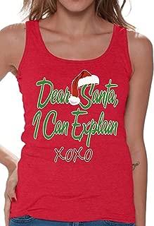 Dear Santa I Can Explain Xmas Tank top