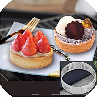 Non-Stick Stainless Steel Material Home Bake Large Size Circle Cake Mould Baking Tool,7Cm
