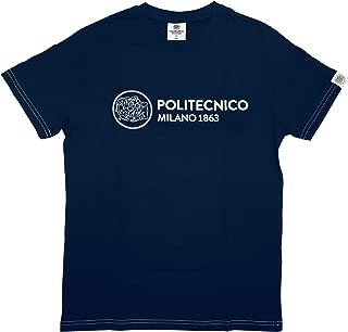Uomo Politecnico di Milano T-Shirt Linea ISTITUZIONALE PE2019