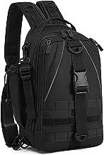 BAIGIO Militaire sling rugzak Molle borstzak schoudertas tactische rugzak vissen tas voor trekking camping wandelen reizen...