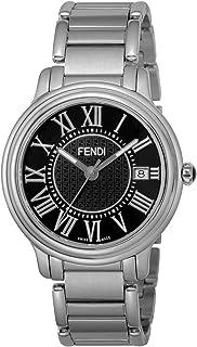 [フェンディ] 腕時計 CLASSICOROUNDMEN ブラック文字盤 F257011000 メンズ 並行輸入品 シルバー