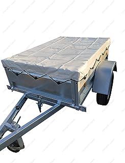 WilTec B/âche Haute 2075x1150x900 mm avec Sangle de Boucle B/âche de remorque B/âche de Couverture B/âche de Couverture