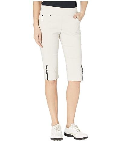 Jamie Sadock 24.5 Skinnylicious Pull-On Knee Capris (Bisque) Women