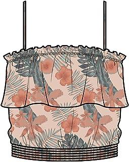 Roxy Womens Collier Ruffle Bandeau Top for Women Arjwt03180