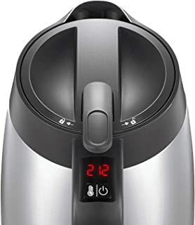 Electric Kettle Temperature Control, 1.7L Insulated Electric Tea Kettle with Double Wall Cool Touch, Overnight Stay Warm and Safety Locker, BPA free, 2 Year Warranty, KiKet