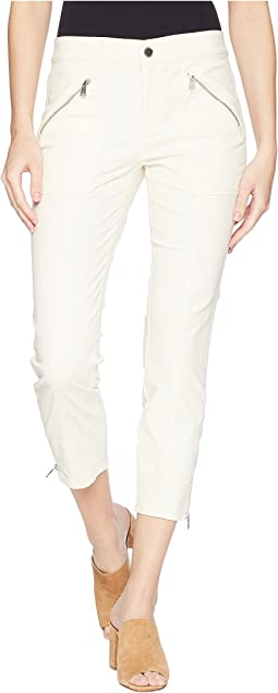 Zip-Pocket Skinny Cargo Pants