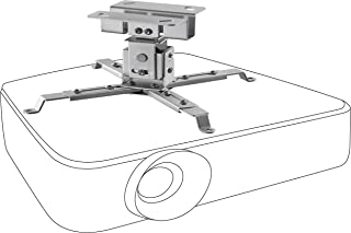 celexon lutbar och svängbar takmontering universal MultiCel1200S – silver – 12 cm takavstånd – upp till 25 kg