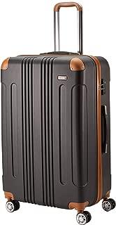 (ムーク)M∞K 超軽量スーツケース 【一年保証】 ダブルキャスター TSAロック付き
