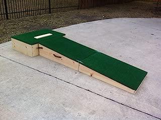 portable high school pitching mound
