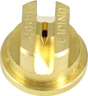 Smith Performance Sprayers 182921 Brass Flat Tip 0.2 GPM, 80-Degree Fan, 8002, for NL402 Backpack Spraye