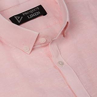 Lemonade Pink Linen Shirt