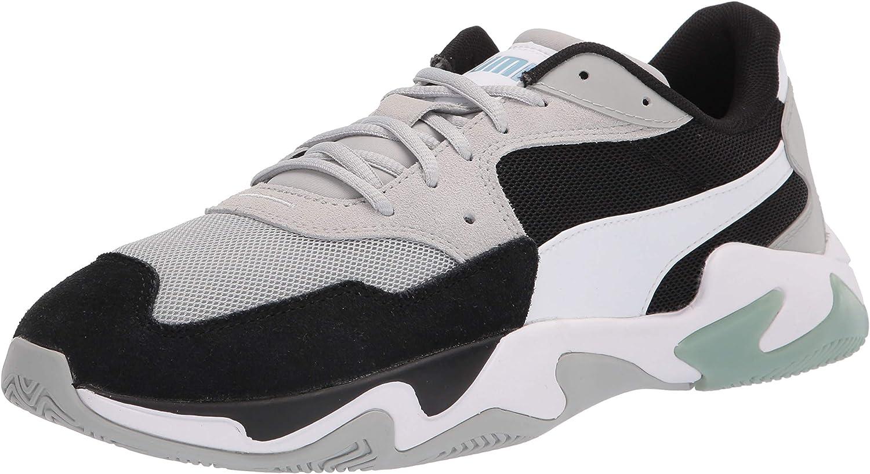 Amazon.com   PUMA unisex adult Storm Sneaker, Puma Black-high Rise ...