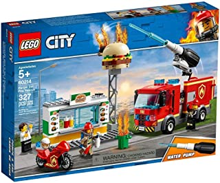 LEGO City Fire Burger Bar Fire Rescue for age 5+ years old 60214