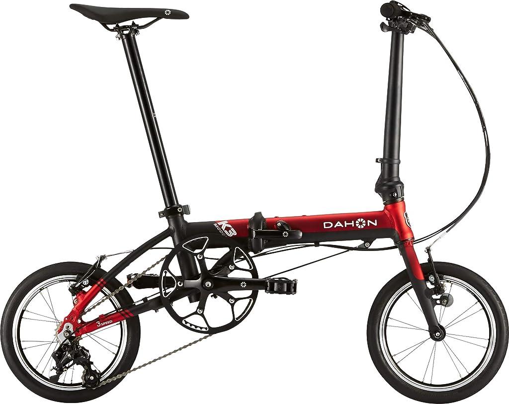 突進一定額DAHON ダホン K3 折りたたみ自転車 軽量 14インチ ミニベロ