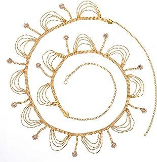 Jewel Pari Traditional Jewellery Crystal Kamarband for Women