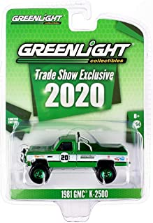 Green Machine 30102 1981 GMC K-2500 - #20 Greenlight Stuntman Association - 2020 Greenlight Trade Show Exclusive 1:64 Scale Greenlight Chase