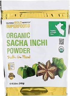 California Gold Nutrition Superfoods, Organic Sacha Inchi Powder, 8.5 oz (240 g)