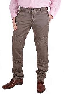 Pantalones De Hombre Vaqueros Caqui W31/L34 #RIF170