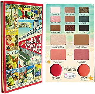 The Balm Voyage Eyeshadow Palettes - 8.1 g, Multi Color