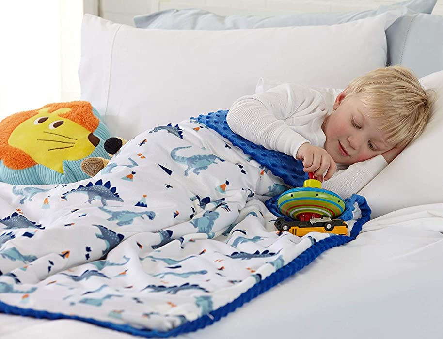 Great Bay Home Weighted Blanket Duvet Cover for Kids. 36