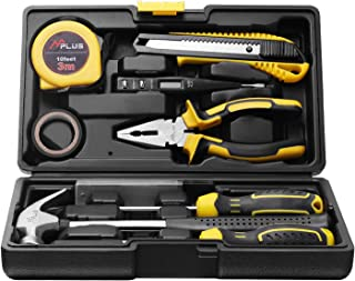 MPLUS 14 Piece Daily Tool Kit, Ideal for Manual Repairs, Computer Repairs, Daily Home Maintenance