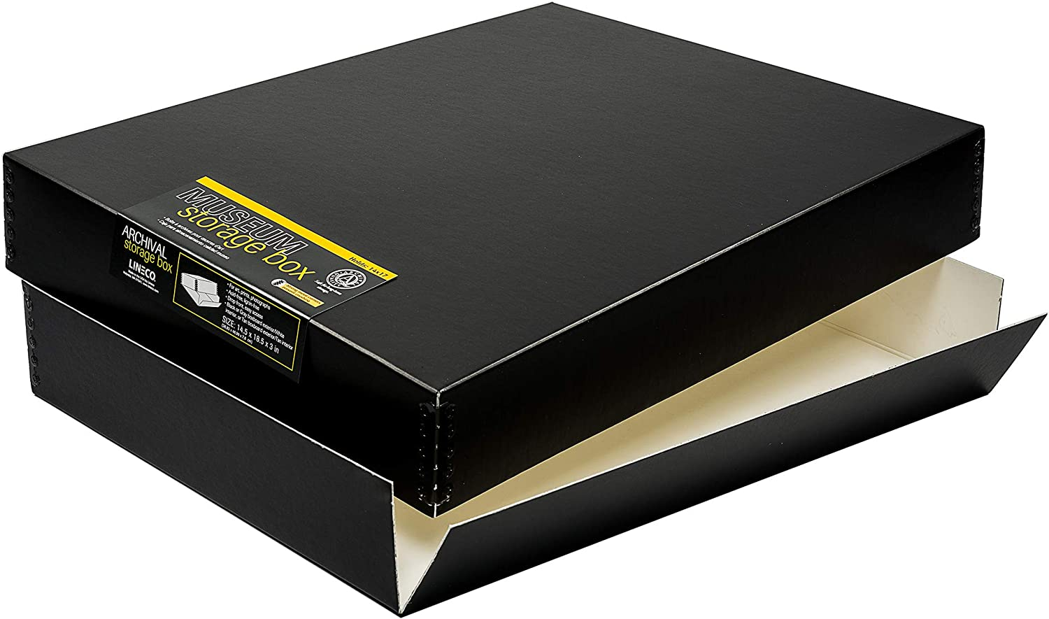 Lineco Museum Storage Box Acid-Free Quality Special price Max 41% OFF for a limited time Archival Drop-Front