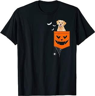 Labrador 1 Pocket Halloween Costume Funny Gift Ideas T-Shirt
