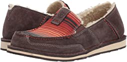 Chocolate Grey/Southwestern Serape