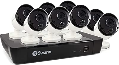 Swann SWNVK-875808-AU 8 Channel 8 Cameras 5MP NVR Security System 8 Channel 8 Cameras 5MP