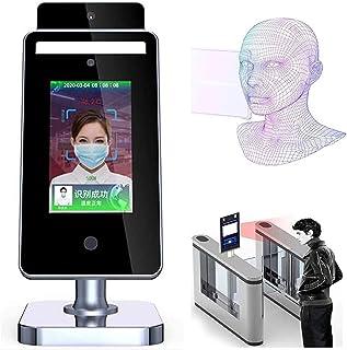 Termometro A Infrarossi Corpo Da 8 Pollici Senza Contatto / Chiosco Con Riconoscimento Facciale E Scanner Termico IR Per I...