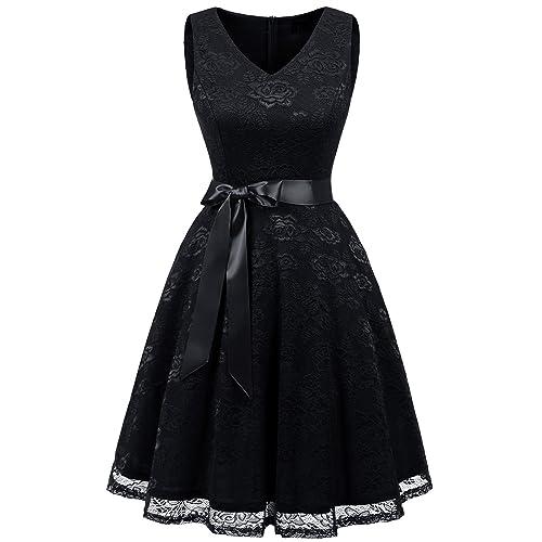 Long and Short Black Wedding Dresses