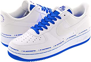 [ナイキ] AIR FORCE 1 LOW QS WHITE/RACER BLUE 【UNINTERRUPTED】【MORE THAN】 [並行輸入品]