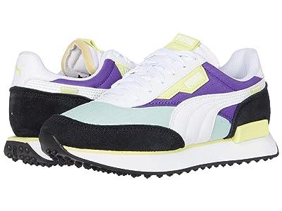 Puma Kids Rider Play On (Big Kid) (Mist Green/Purple Corallites/White) Kids Shoes