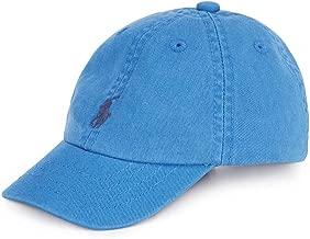 Ralph Lauren Baby BOY Cotton Chino Baseball Cap Kite Blue 3Month/9Month