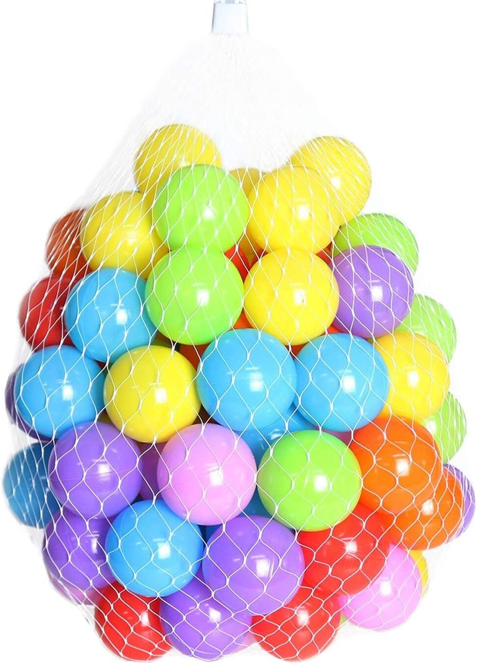Ranking integrated 1st place Zmarthumb - Pack of 100 Balls BPA Colorful 2.1-Inch Free Crush Lowest price challenge