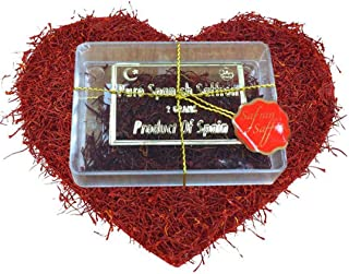 Spanish Superior Quality Saffron Red Threads Filaments Cat 1,100% Pure Natural Food and Tea Spice 2 Grams Acrylic Box Packing, Promotional Price For Limited Time