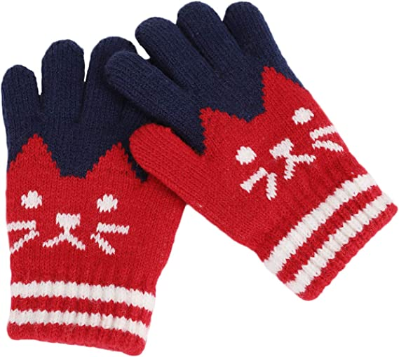 GC4K4 NWT More than Magic Kids/' Winter Set Collection Mittens