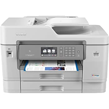 Brother Inkjet Printer, MFCJ6945DW, INKvestmentTank Color Inkjet All-in-One Printer with Wireless, Duplex Printing and Up to 1-Year of Ink in-Box, Amazon Dash Replenishment Ready