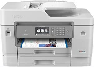 Brother Inkjet Printer, MFCJ6945DW, INKvestmentTank Color Inkjet All-in-One Printer with Wireless, Duplex Printing and Up ...