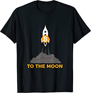 Bitcoin To The Moon T-Shirt - Future Of BTC, Ethereum, Coins