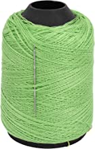 uxcell Cotton Leather Stitching Sewing Quilting Thread Spool Green