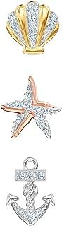 Swarovski Crystal Ocean Stud Earrings